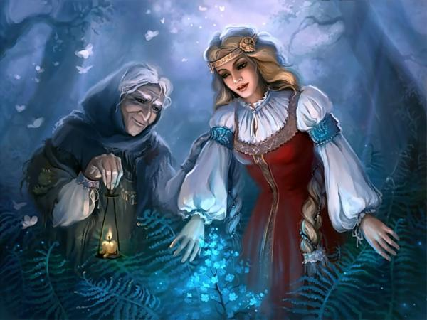 Old And Young Witches - Wicca Girls - Magical Pictures